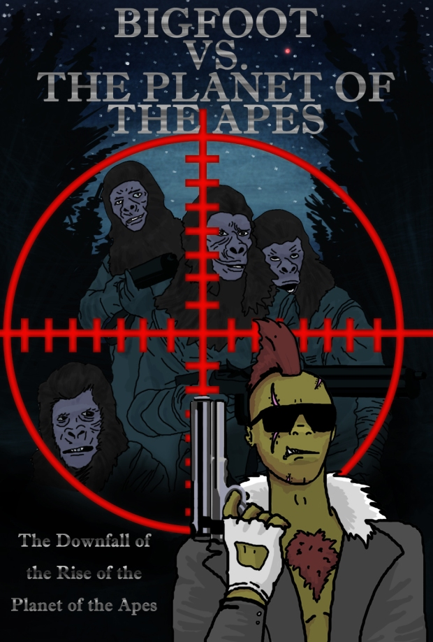 BigfootvsTheplanetoftheapes_poster