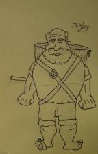 Digby Sudsworth Esq., and his Keg/Warhammer.