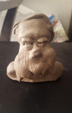 A Clay Bust of Digby
